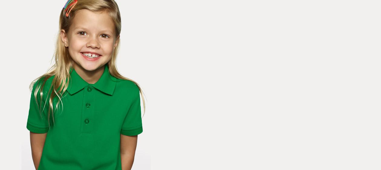 Poloshirts für Kinder | Bedrucken & Besticken